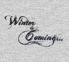 """Winter is Coming"" - Game of Thrones Tribute Tee by Reverendryu"