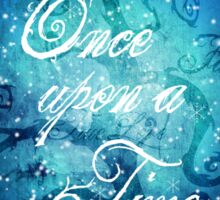Once Upon A Time ~ Winter Snow Forest Sticker