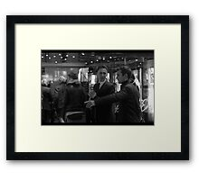 The Inevitability of Tom Hiddleston Framed Print