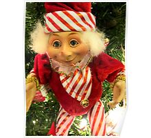 Santa's Dearest Elf Poster