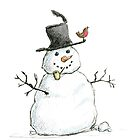 Snowman by Jennifer Kilgour