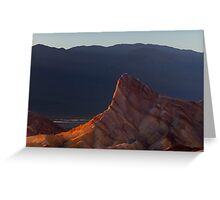 Manly Beacon at Sunset. Greeting Card