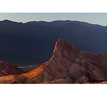 Manly Beacon at Sunset. Photographic Print