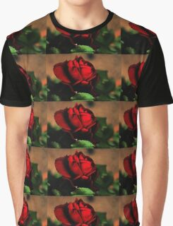 Blood Red Rose Graphic T-Shirt
