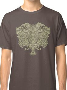 Baroque Wings Grey/ivory Classic T-Shirt