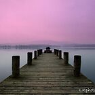 Morning on the lake by LKPhoto
