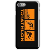 Triathlon modern icons iPhone Case/Skin