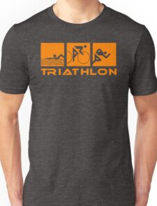 Triathlon modern icons Unisex T-Shirt