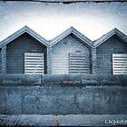 Beach Huts by LKPhoto