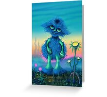 Lunartic Squibble Greeting Card