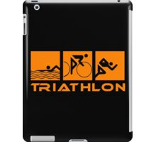 Triathlon modern icons iPad Case/Skin