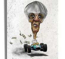 Bernie Ecclestone by Mikhaile