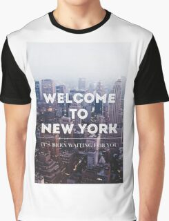 WELCOME TO NY Graphic T-Shirt