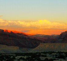 Utah Sunset by ekingrn