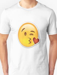 Kiss face Emoji T-Shirt
