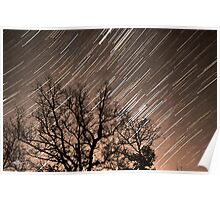 Gailey Road Star Trail  Poster