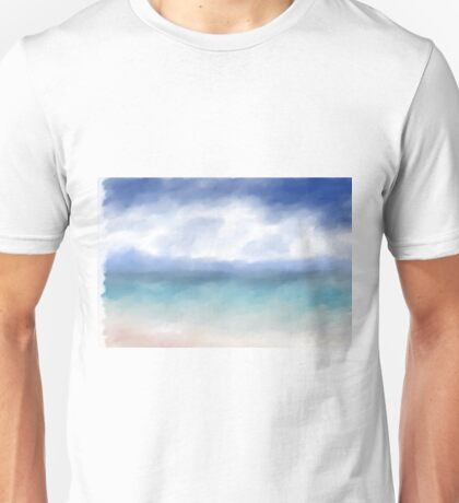 Abstract Ocean Unisex T-Shirt