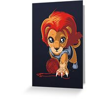 THUNDERKITTEN Greeting Card