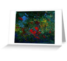 Jungle Hut by Fllorida Artist John E Metcalfe Greeting Card