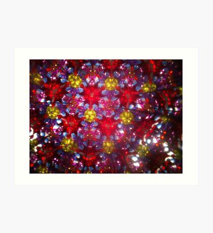 Kaleidoscope 20 Art Print