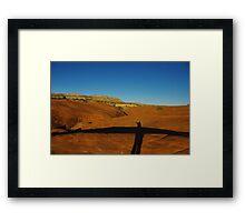 Near Devils Garden, Grand Stair Escalante National Monument, Utah Framed Print
