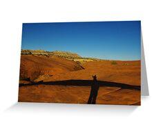 Near Devils Garden, Grand Stair Escalante National Monument, Utah Greeting Card