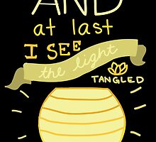 Tangled- And At Last I See the Light  by YoursGeekly