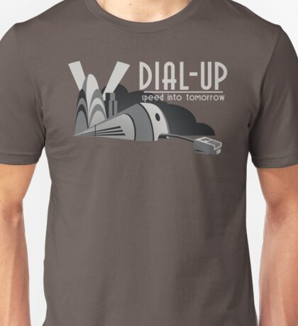 Dial Up Unisex T-Shirt