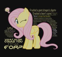 What else could anyone possibly ask for? (Fluttershy) Kids Clothes