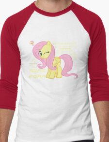 What else could anyone possibly ask for? (Fluttershy) Men's Baseball ¾ T-Shirt