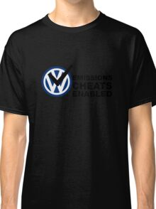 VW Emissions Cheat Enabled Classic T-Shirt