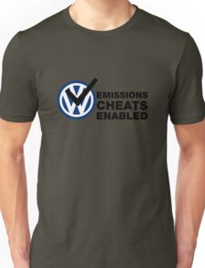 VW Emissions Cheat Enabled Unisex T-Shirt