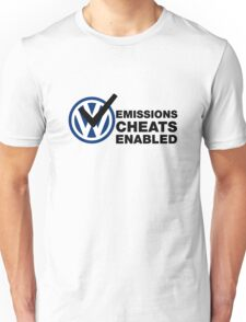 VW Emissions Cheat Enabled Unisex T-Shirt