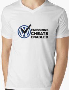 VW Emissions Cheat Enabled Mens V-Neck T-Shirt