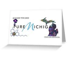 Pure Michigan Greeting Card