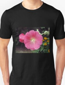 Pink Hollyhock T-Shirt