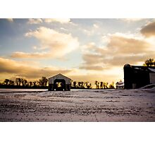 Patchwork Farms Photographic Print