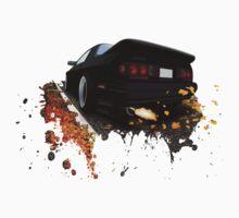 Mazda RX-7 FC (Black) One Piece - Short Sleeve