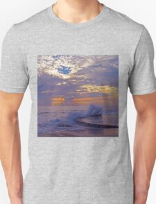 Sunset Splash at Victoria Beach T-Shirt