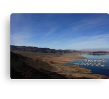 Lake Mead II Canvas Print