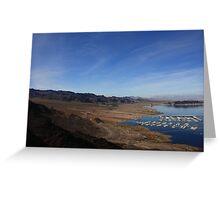 Lake Mead II Greeting Card