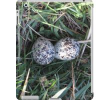 eggs in a nest iPad Case/Skin