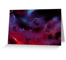 Black Hole [quiet] Greeting Card