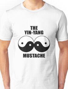 Yin-Yang Mustache T-Shirt