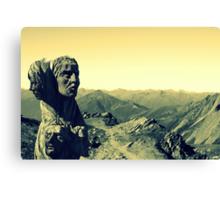 Alpine Guides Canvas Print