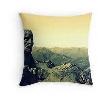 Alpine Guides Throw Pillow
