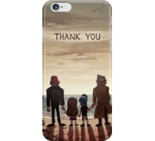 Gravity Falls - Thank You (WITH Words) iPhone Case/Skin