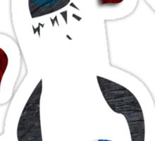 I Heart Boobies Sticker