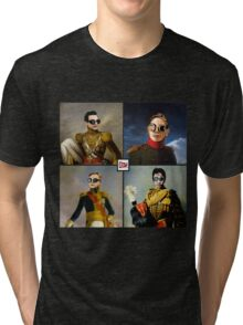 DM : Classic paint for Rose Bowl 101 Tri-blend T-Shirt
