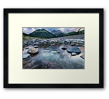 Waterton Rivers Framed Print